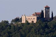 Santa Maria del Puig de la Creu des de la Serra Llisa