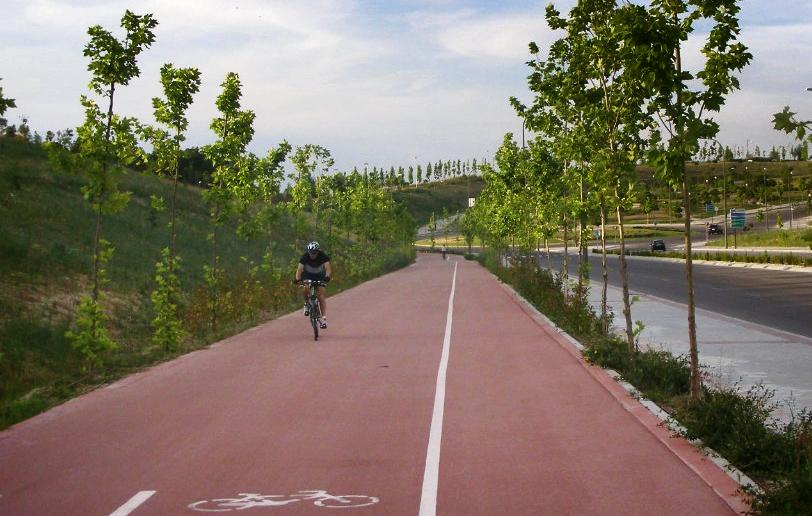 Segoviaenbici anillo verde ciclista un gran error - Anillo verde ciclista madrid mapa ...