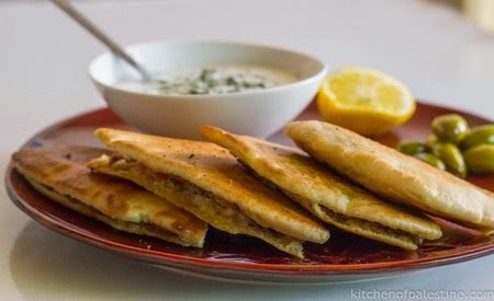 Arayes are pita bread sandwiches stuffed with minced lamb meat Pita Stuffed with Meat (Arayes) Recipe