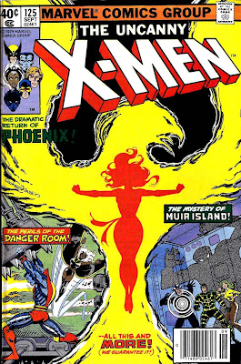 X-men v1 #125 marvel comic book cover art by John Byrne