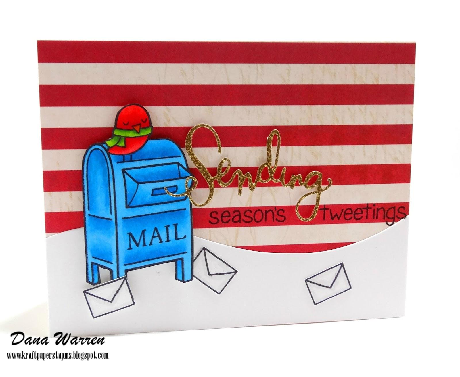 Dana Warren - Kraft Paper Stamps - Lawn Fawn