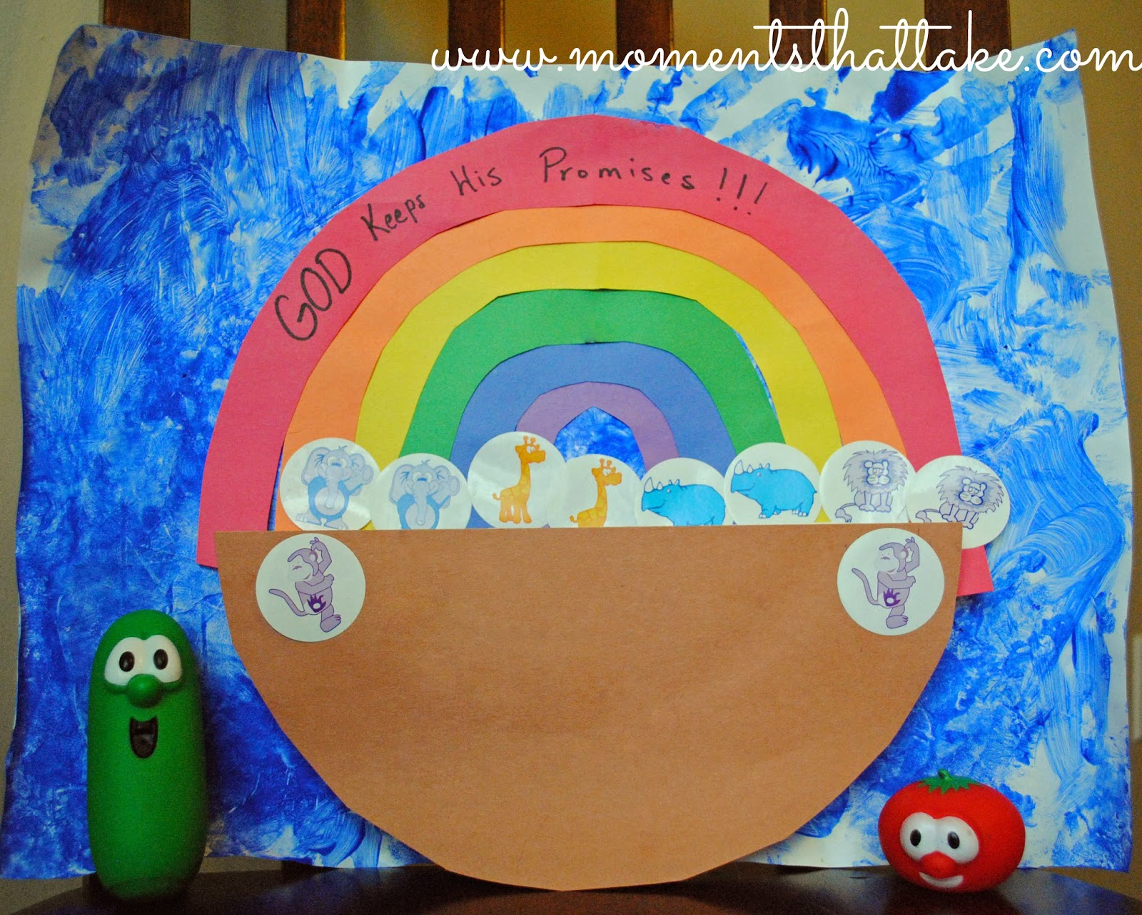 Noah's Ark Craft for Toddlers