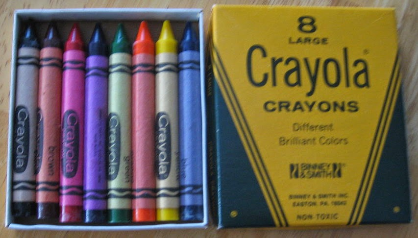 Large Crayola Crayons: