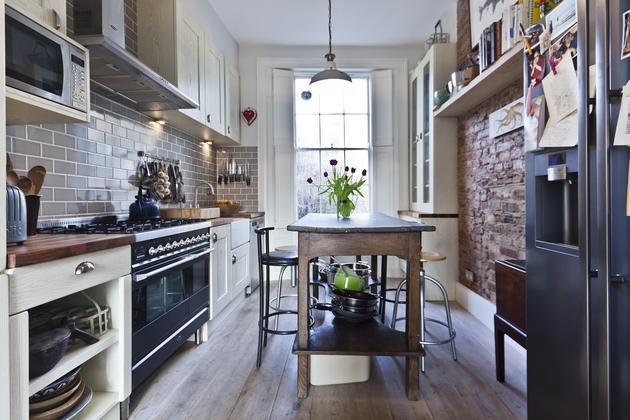 Elegancia inglesa english elegance for Cocina estilo industrial