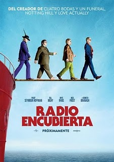 Ver Radio encubierta (The Boat That Rocked) (2009) Online