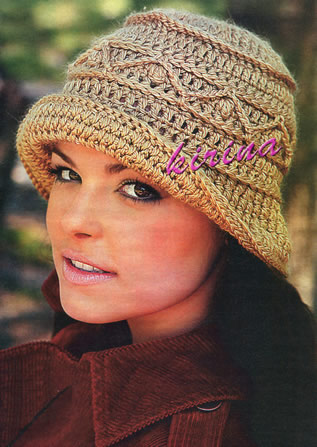 Вязание шапок и шарфов модные