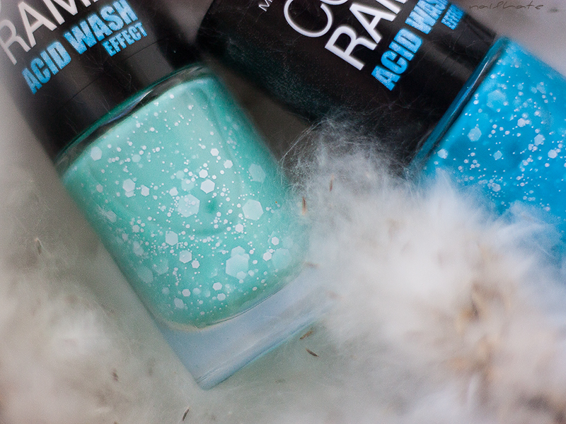 "Maybelline Colorama ""Acid Wash effect"" #246 и #247"