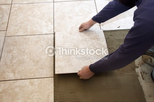 photo credit: thinkstockphotos (Using Grout as a Decor Element for Tile Floors)