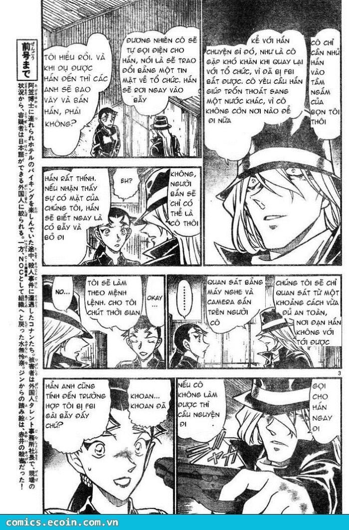 Detective Conan - Thám Tử Lừng Danh Conan chap 607 page 3 - IZTruyenTranh.com