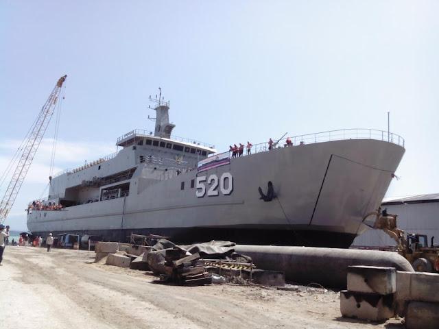 KRI Teluk Bintuni-520 Resmi Beroperasi