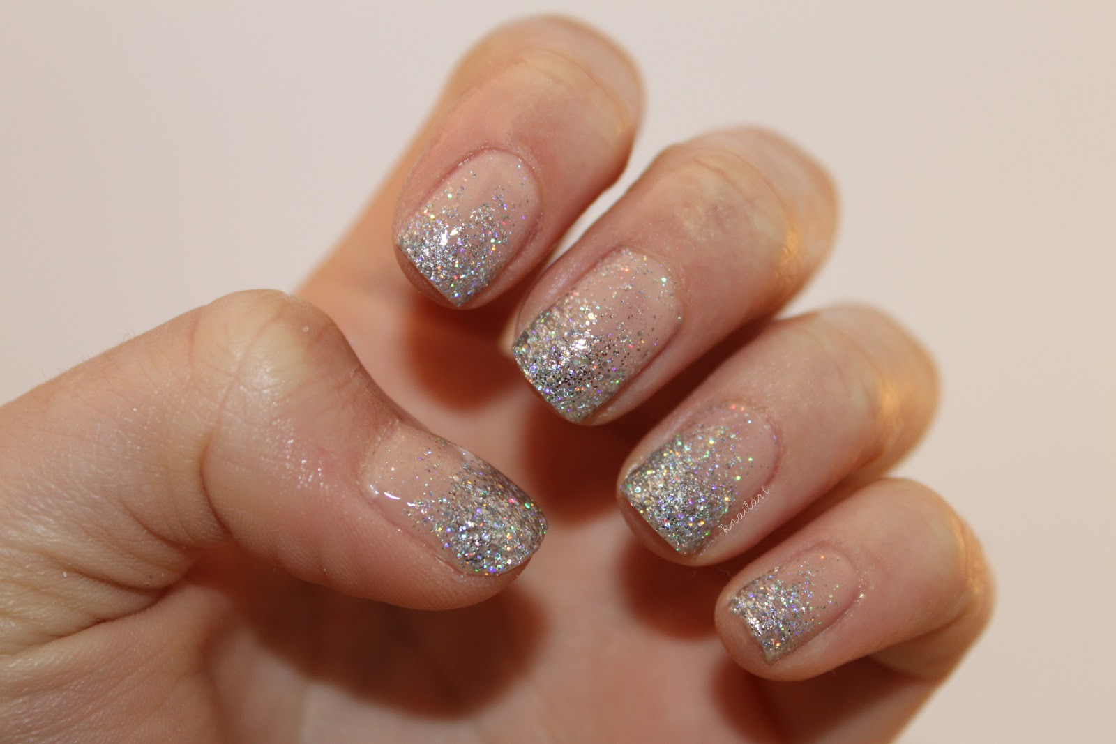 Diy nail art glitter gradient diy winter glitter gradient no gradient glitter nail art tutorial how to paint a view images prinsesfo Gallery