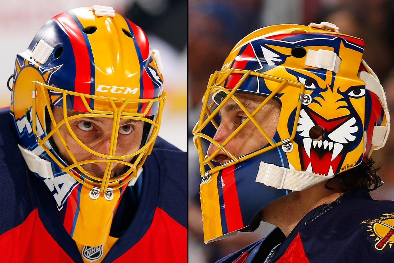 I Love Goalies Roberto Luongo 2014 15 Mask