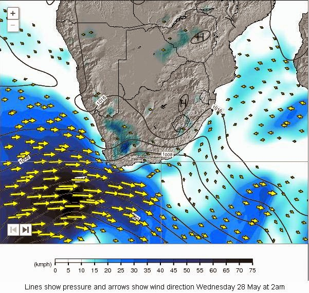 Mossel bay weather observation south africa cold front western rain 1 15mm gale force 40kmh wind and rough seas 2 4 m is forecast for the above period gumiabroncs Choice Image