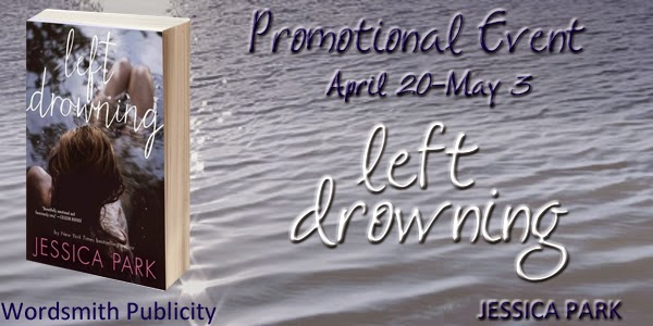 Left Drowning by Jessica Park‏ with Giveaway and SO much more!!
