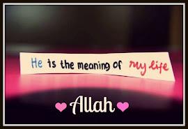 cinta ALLAH :)
