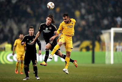 AEK Athens 1 - 2 Anderlecht (2)