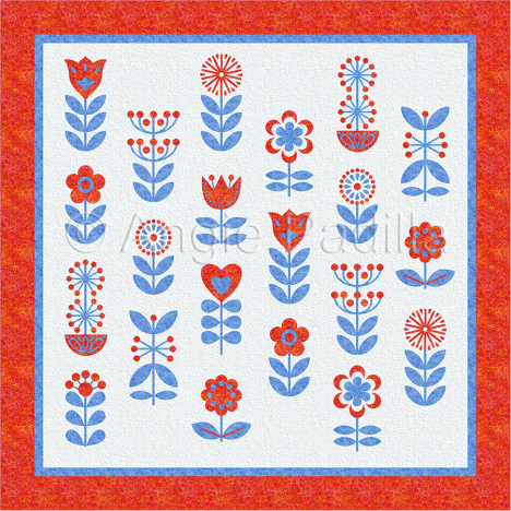 BOM - Scandinavian Flowers