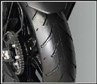 Yamaha R15 2.0 tyre