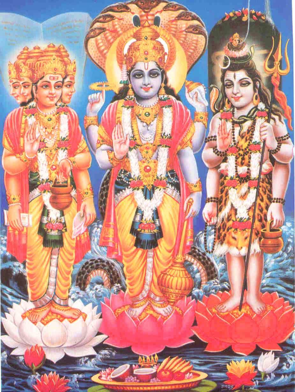 Best Wallpaper Lord Hindu - Brahma-Picture-with+Vishnu-Mahesh  Pic_935639.jpg