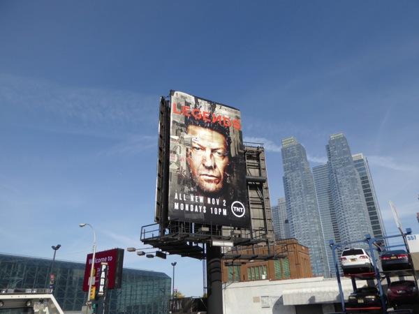Legends season 2 billboard NYC