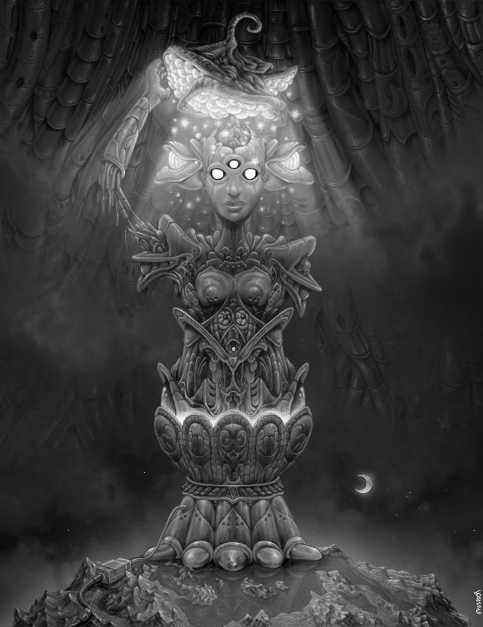 06-Lamp-Woman-Sylvain-Dolisi-Sylvanor-Detailed-Fantasy-Digital-Art-www-designstack-co