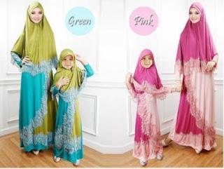 Gambar Baju Muslim Couple Ibu Dan Anak Perempuan