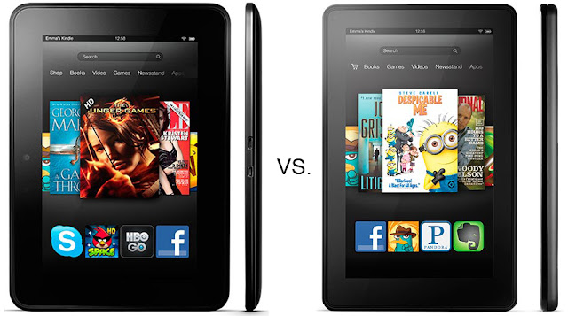 kindle fire hd vs kindle fire