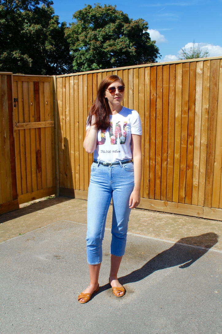 fivepoundtee, flowerpower, asos, primark, asosjeans, fbloggers, fblogger, fashionbloggers, fashionblogger, wiw, whatimwearing, lotd, lookoftheday, outfitoftheday, ootd