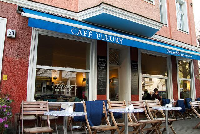 quán CAFE FLEURY berlin