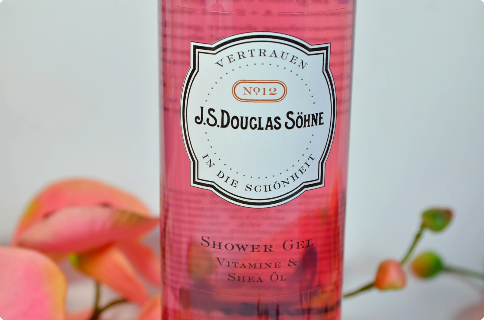 Review J.S Douglas Söhne VITAMINE & SHEA Shower Gel