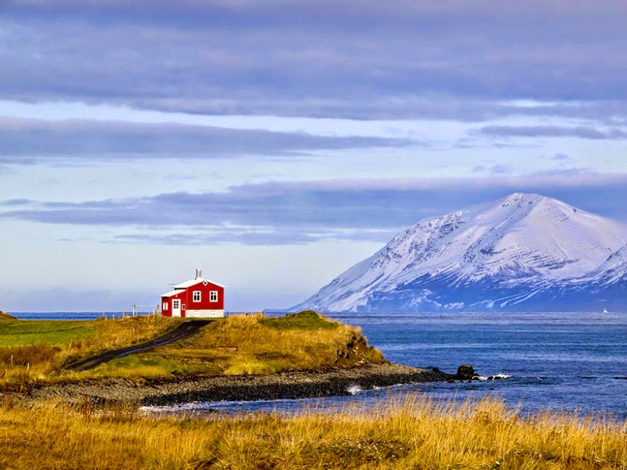 المنزل الأحمر الصغير