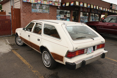 1982 AMC Concord DL wagon.