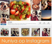 Nuniya volgen op Instagram