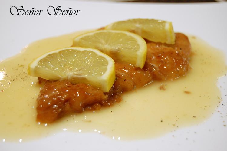 Receta de pollo al lim n receta de sergio - Salsa de pollo al limon ...