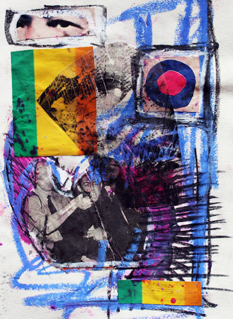 Marc Lawrence Abstract Collage 04