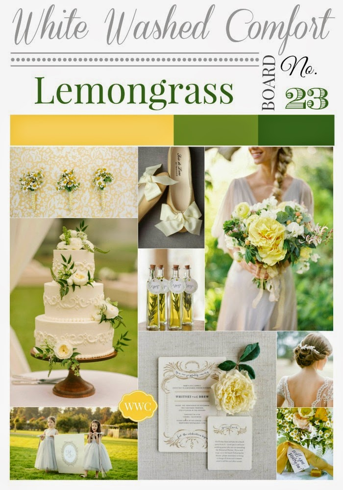 Lemongrass Inspiration Board