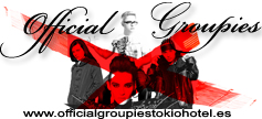 OFFICIAL GROUPIES TOKIO HOTEL