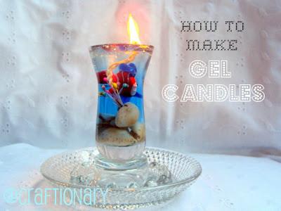 make gel candles