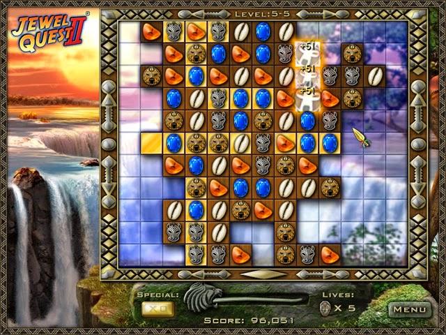 Jewel Quest II - African game
