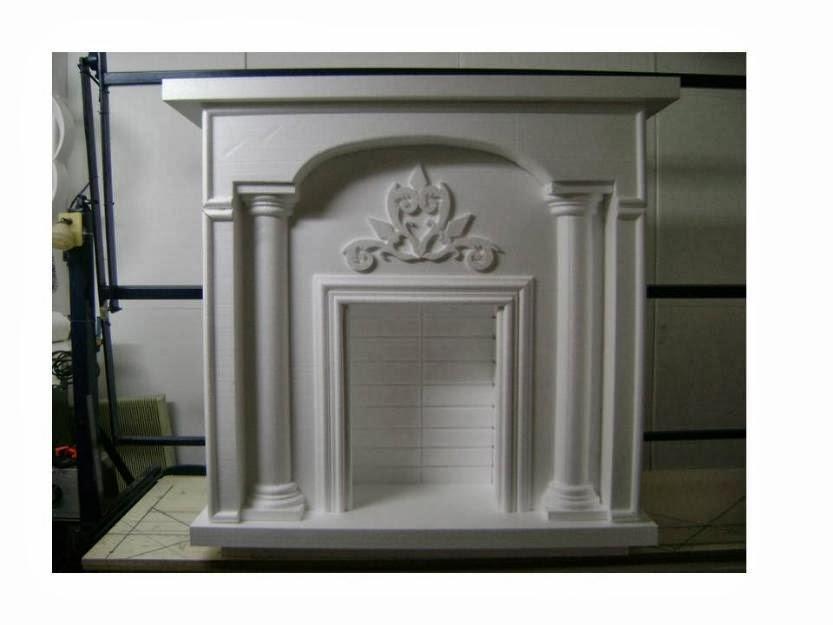 Casa de la moldura for Molduras para chimeneas