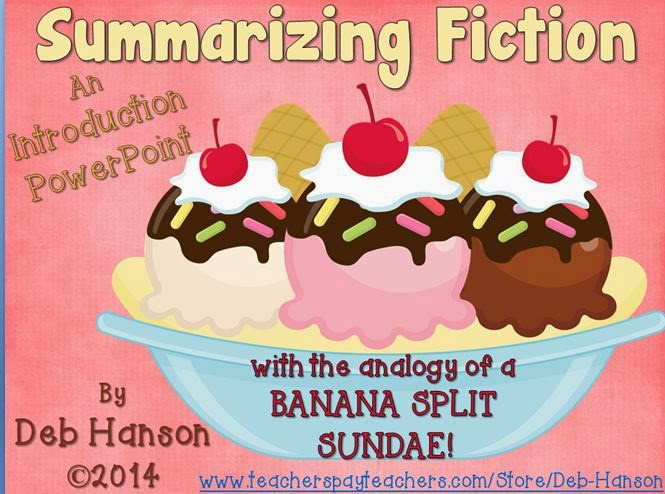 http://www.teacherspayteachers.com/Product/Summarizing-Powerpoint-focusing-on-summarizing-fiction-1088810