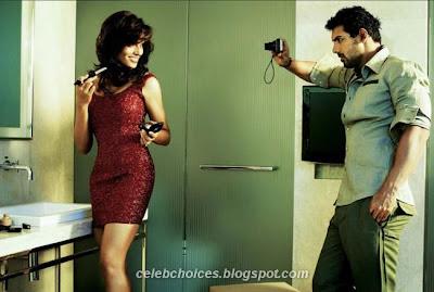 John Abraham & Bipasha Basu FilmFare Scans 2