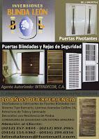 INVERSIONES BLINDA LEON en Paginas Amarillas tu guia Comercial