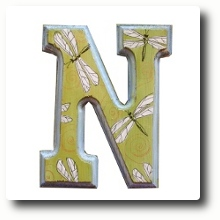 HANDPAINTED ALPHABET LETTERS
