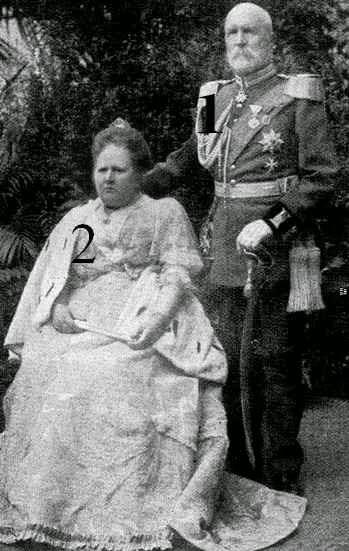 Wolfgang et Emma Fürst et Fürstin zu Castell-Rüdenhausen