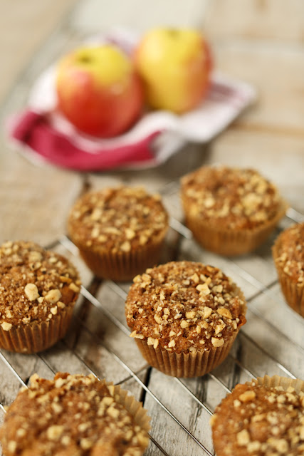 Caramelized Apple Spice Muffins (+ A New Contest!)
