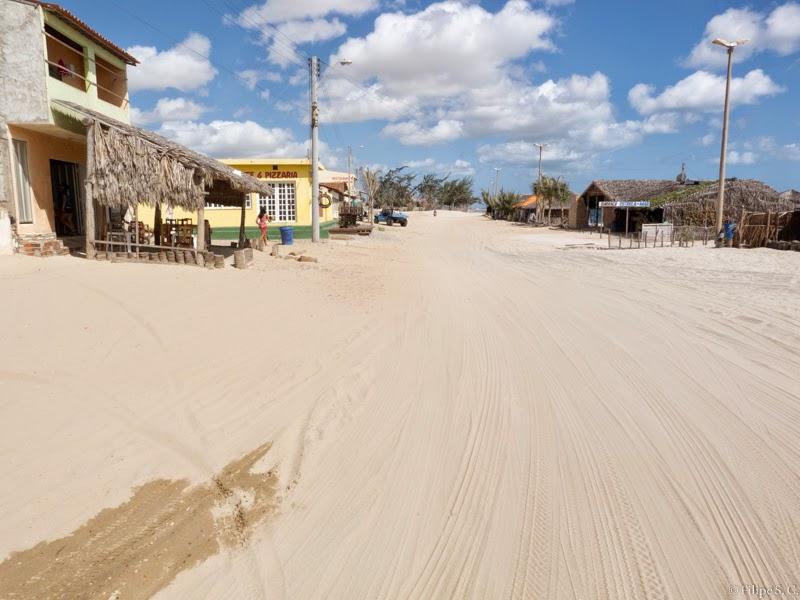 Foto da vila do Preá