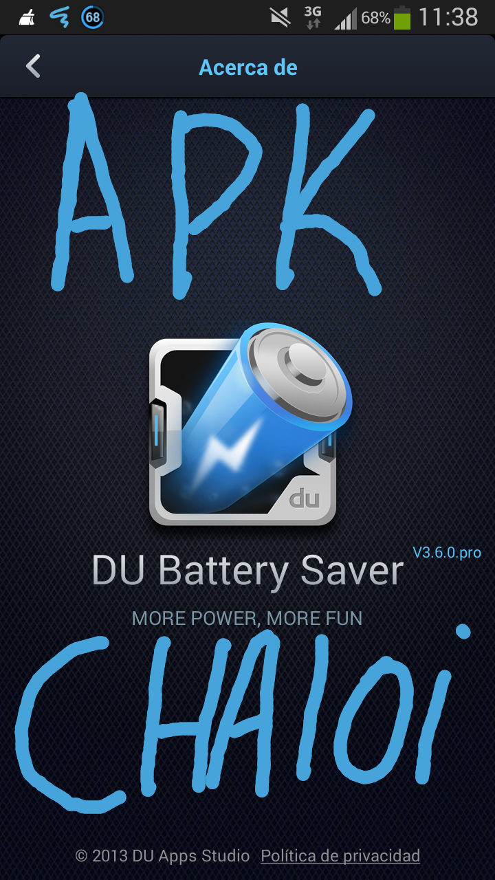 how to delete du battery saver