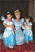 With Cinderella at Disney World 2012 (cinderella disney world )