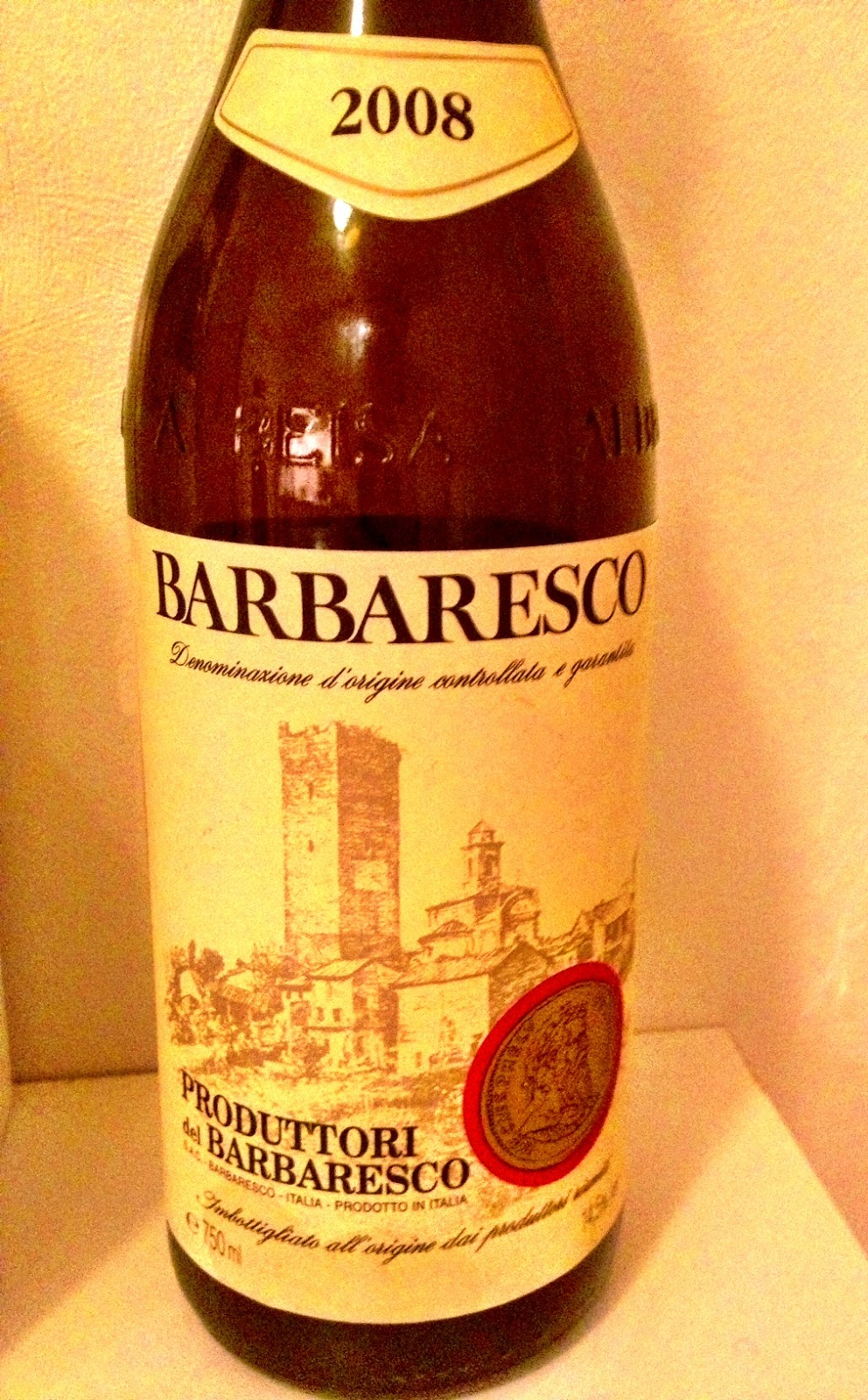 Tasting note on the 2008 Produttori del Barebaresco Barbaresco